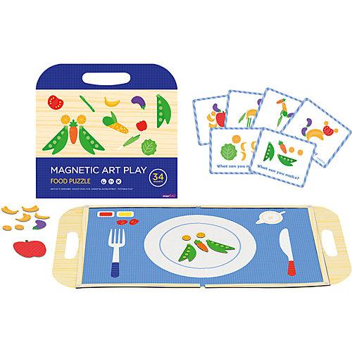 """Игровой набор с магнитным пазлом MierEdu """"Еда"""" от MierEdu"""