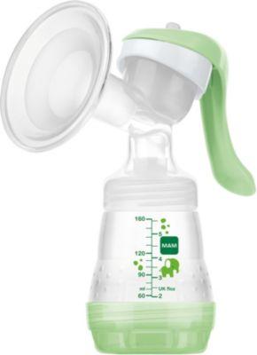 Handmilchpumpe kompakt grün