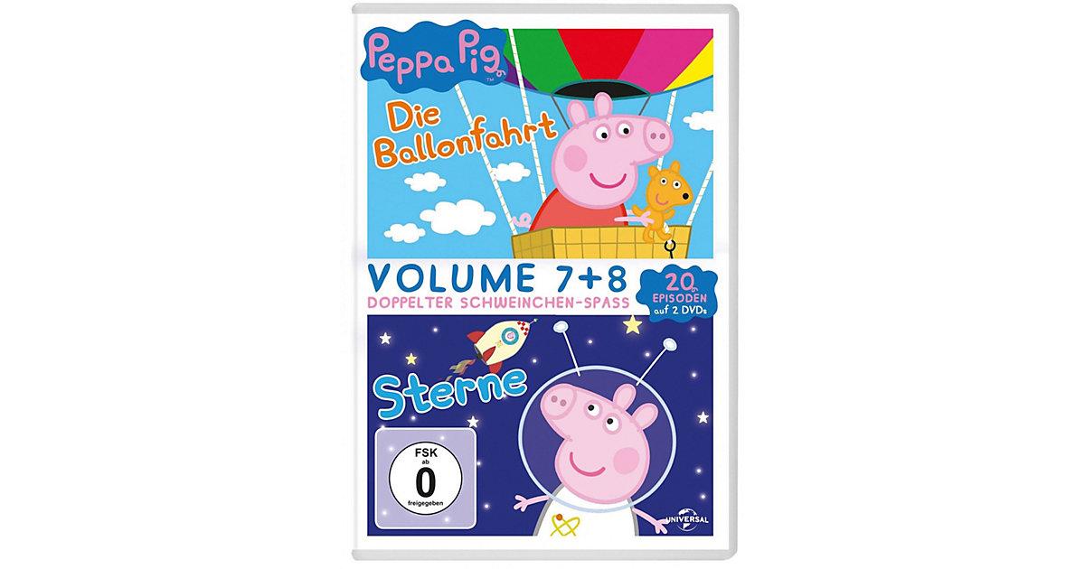 DVD Peppa Pig - Die Ballonfahrt & Sterne (2 DVDs) Hörbuch