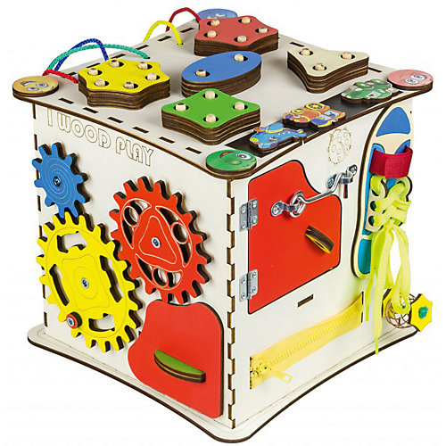 "Бизиборд Iwoodplay ""Куб"", 25х25 см от Iwoodplay"