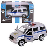 Машинка Автопанорама Полиция, 1:50