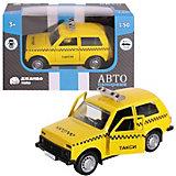 Машинка Автопанорама Такси, 1:50