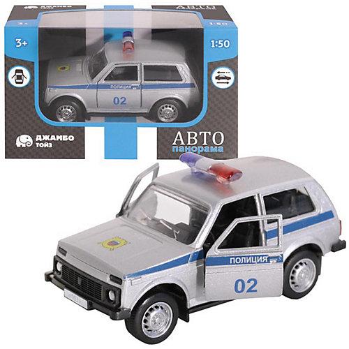 Машинка Автопанорама Полиция, 1:50 от Автопанорама