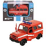 Машинка Автопанорама Пожарная охрана, 1:50