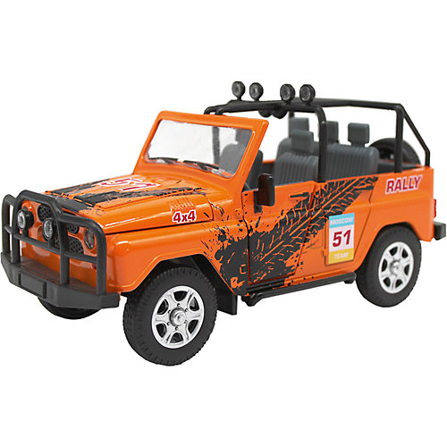 Машинка Автопанорама УАЗ-469 Rally, 1:24 от Автопанорама
