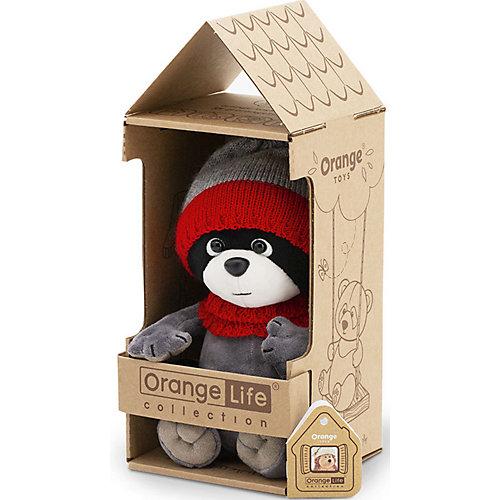 Мягкая игрушка Orange Life Енотик Дэнни: Стильный образ, 20 см от Orange