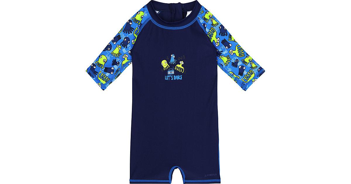 Kinder Schwimmanzug AUREL dunkelblau Gr. 128 Mädchen Kinder