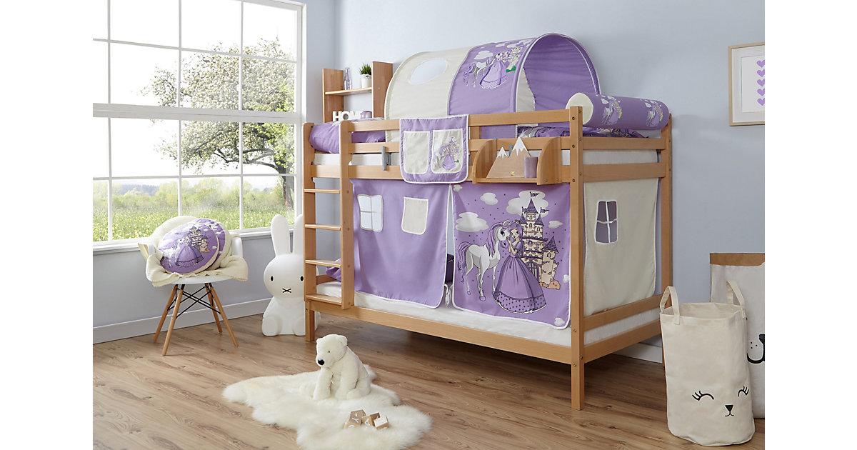 Etagenbett Rene Buche Natur natur Gr. 90 x 200 | Kinderzimmer > Kinderbetten > Etagenbetten | TICAA