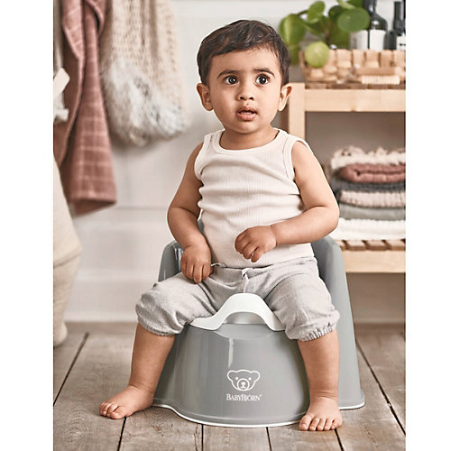 Кресло-горшок BabyBjorn Potty Chair серый от BabyBjorn