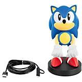 Фигурка-подставка Exquisite Gaming Cable guy XL: Sonic: Классический Соник, CGCRSG300009