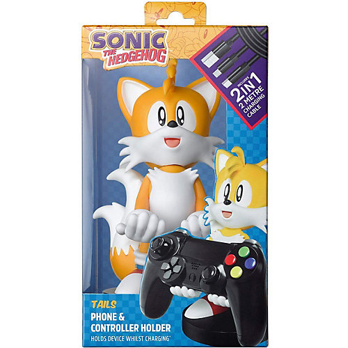 Фигурка-подставка Exquisite Gaming Cable guy XL: Sonic: Тейлз, CGCRSG300128 от Exquisite Gaming