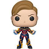 """Фигурка Funko POP! Bobble: Marvel: """"Мстители: Финал"""" Капитан Марвел с новой причёской, 45143"""