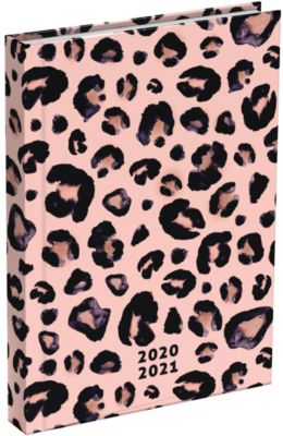 Buch - Schülerkalender 2020/2021 Pink Leopard