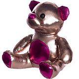 """Мягкая игрушка ABtoys """"Металлик"""" Медведь, 18 см"""