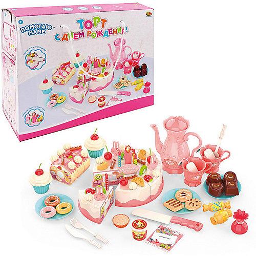 """Игровой набор ABtoys """"Помогаю Маме"""" Торт с аксессуарами от ABtoys"""
