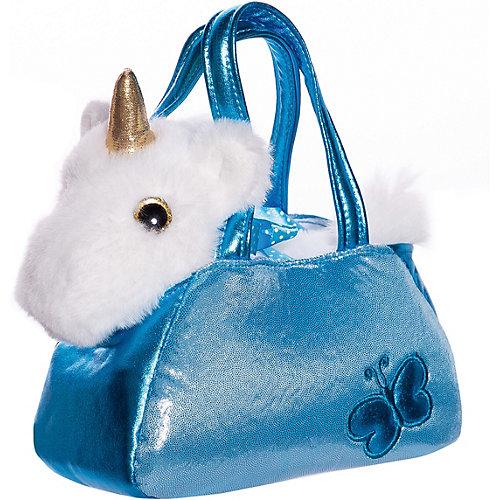 """Мягкая игрушка ABtoys """"Животные в сумочках"""" Единорог, 16 см от ABtoys"""