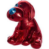 "Мягкая игрушка ABtoys ""Металлик"" Собака, 15 см"