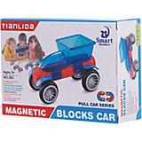 """Магнитный конструктор Junfa Toys """"Машинка"""""""
