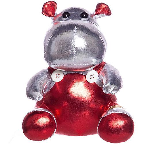 """Мягкая игрушка ABtoys """"Металлик"""" Бегемот, 16 см от ABtoys"""