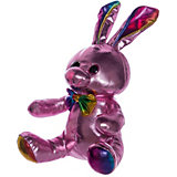 """Мягкая игрушка ABtoys """"Металлик"""" Кролик, 16 см"""