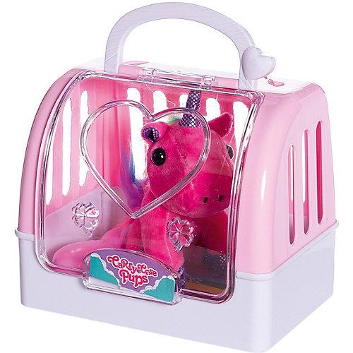 """Мягкая игрушка Junfa Toys """"Мой питомец"""" Единорог в переноске от Junfa Toys"""
