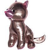 "Мягкая игрушка ABtoys ""Металлик"" Кошка, 18 см"