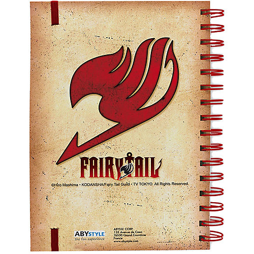 Ежедневник Funko ABYstyle: Fairy Tail от Funko