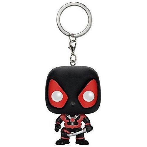 Брелок Funko Pocket POP! Marvel: Black Deadpool от Funko