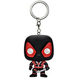 Брелок Funko Pocket POP! Marvel: Black Deadpool