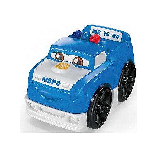 """Конструктор Mega Bloks Гоночные машинки """"Полиция"""" от Mattel"""