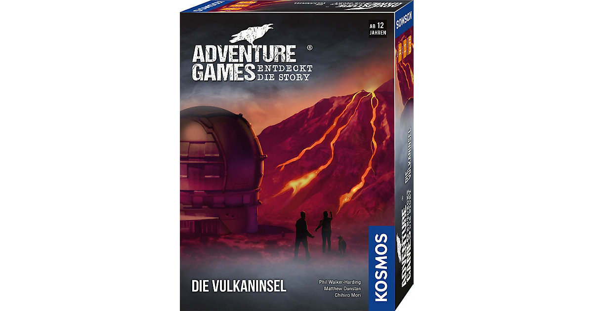 Adventure Games - Die Vulkaninsel