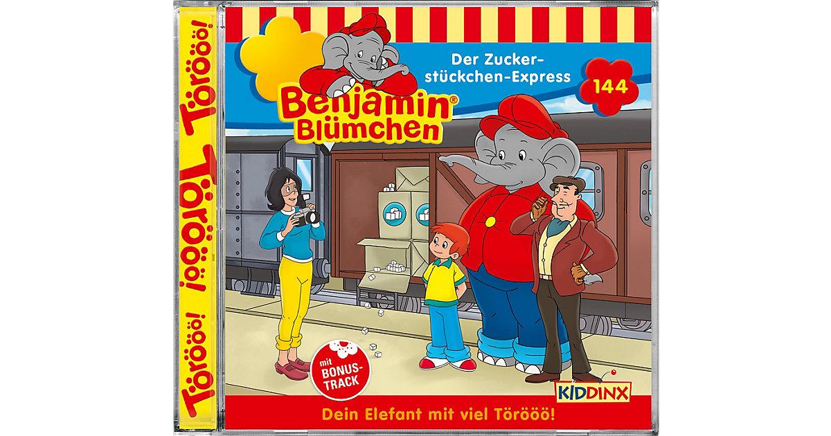CD Benjamin Blümchen 144 - Der Zuckerstückchen-Express Hörbuch