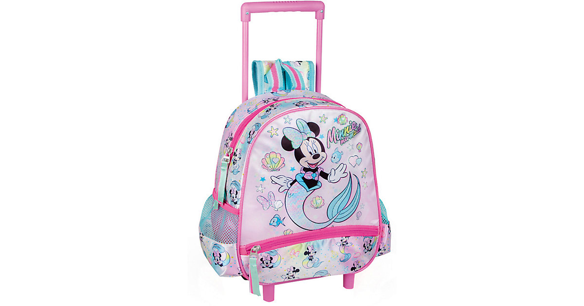 Junior-Rucksacktrolley Minnie Mouse Mermaid bunt