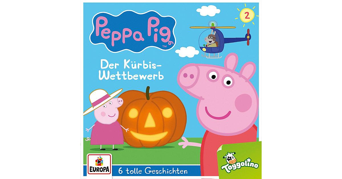 CD Peppa Pig 2 - Der Kürbis Wettkampf Hörbuch