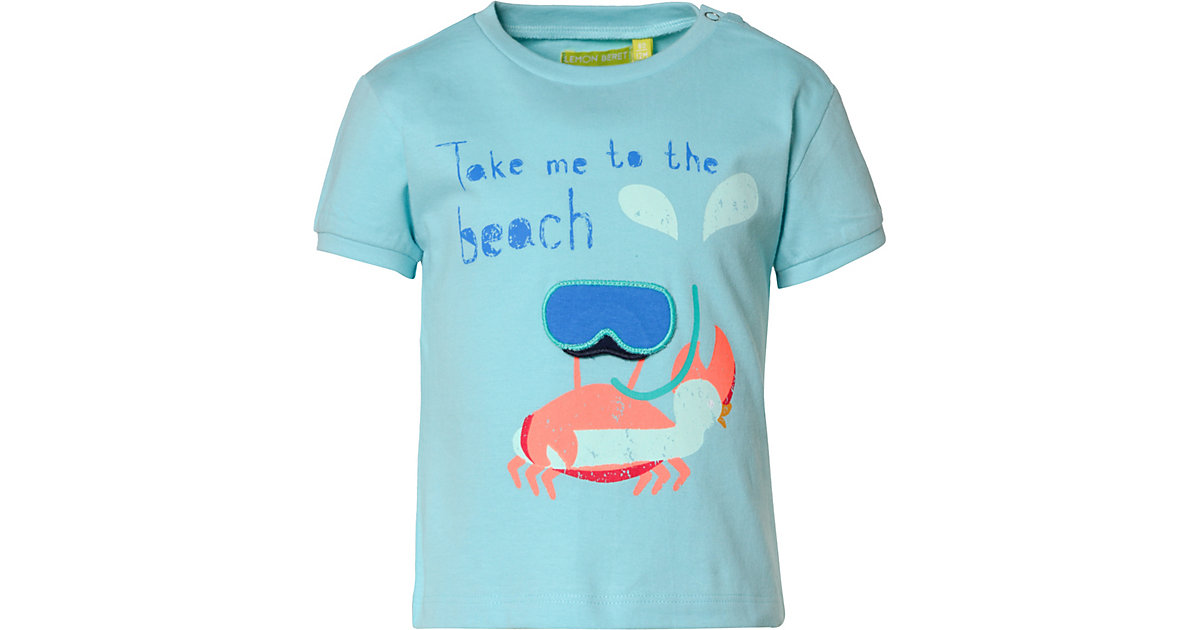 Baby T-Shirt  hellblau Gr. 80 Jungen Baby