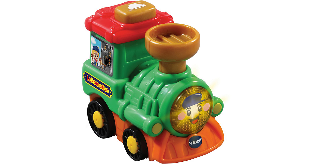 Tut Tut Baby Züge - Lokomotive grün