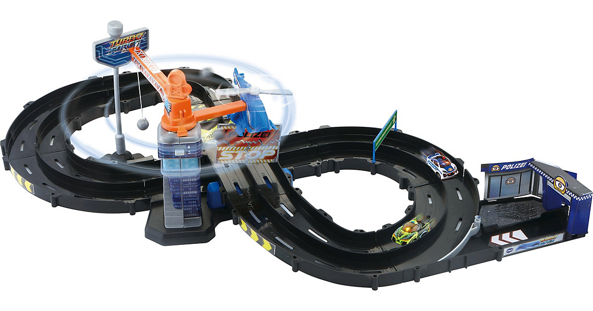 Turbo Force Racers - Police-Track bunt