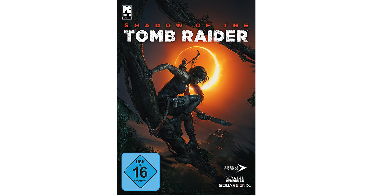 PC DVD Shadow of the Tomb Raider