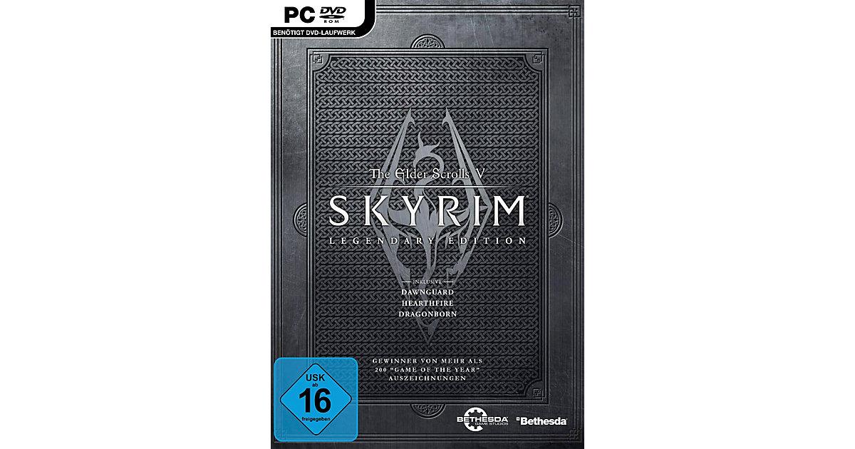 PC DVD Skyrim Legendary Edition