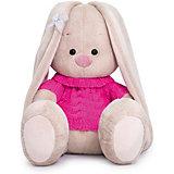 Мягкая игрушка Budi Basa Зайка Ми в розовом свитере, 23 см