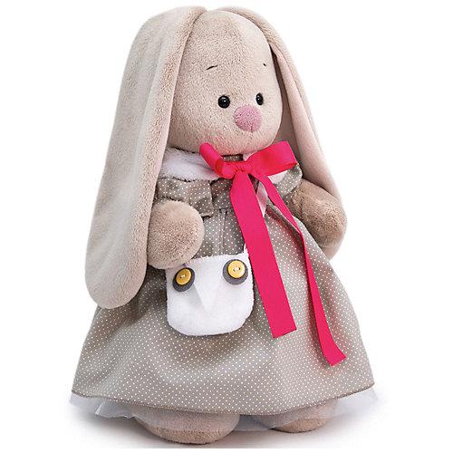 Мягкая игрушка Budi Basa Зайка Ми в платье и с сумкой-совой, 25 см от Budi Basa