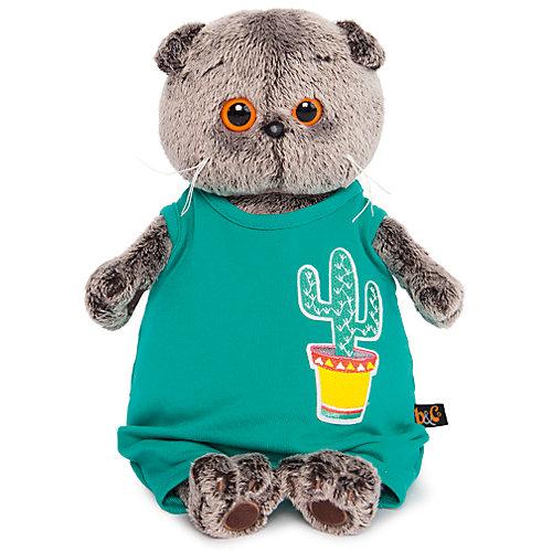 Одежда для мягкой игрушки Budi Basa Комбинезон изумрудный с кактусом, 19 см от Budi Basa
