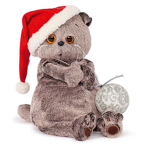 Мягкая игрушка Budi Basa Кот Басик и новогодний колпачок, 30 см от Budi Basa