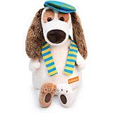 Мягкая игрушка Budi Basa Собака Бартоломей в кепке, 33 см