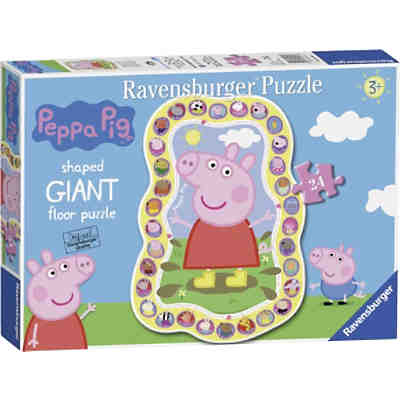 Peppa Pig Shaped Puzzle 24 Teile