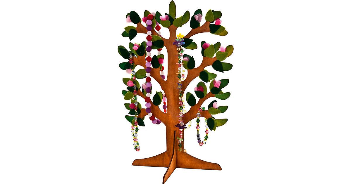 Baum aus Sperrholz mit steckbarem Standfuß natur