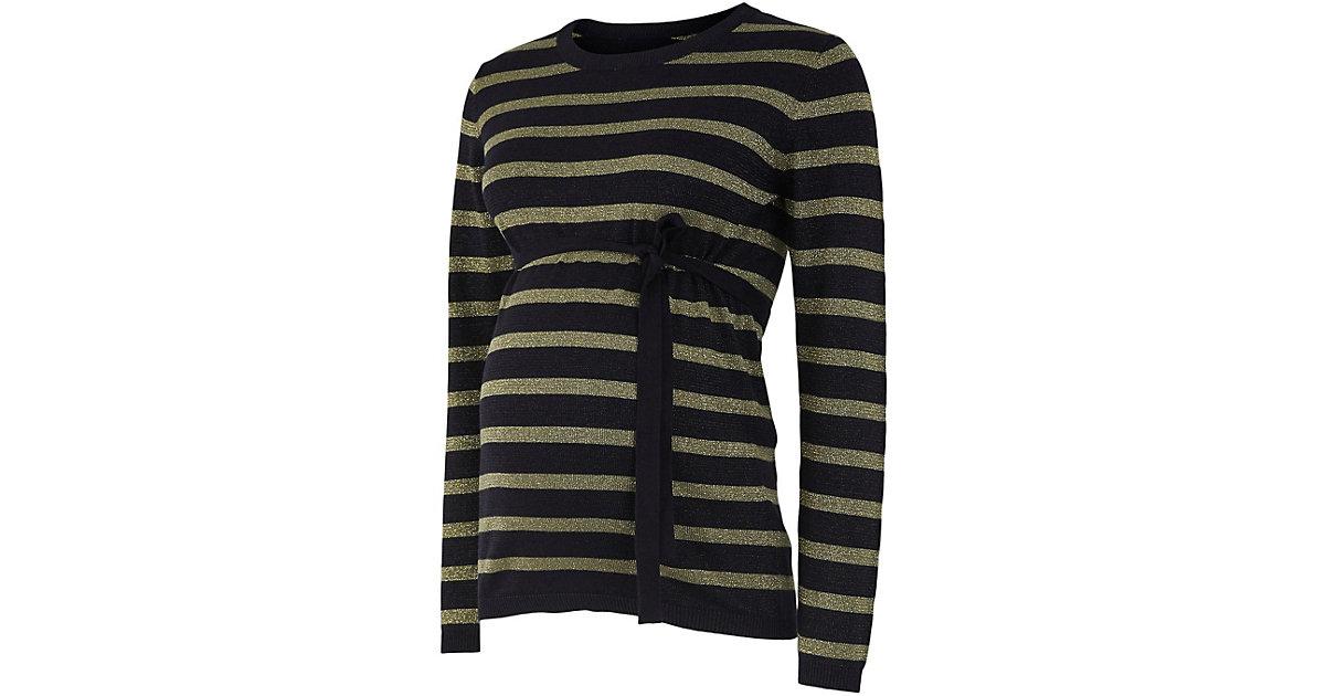 MLBLACK L/S KNIT TOP BF A. - Umstandspullover - weiblich schwarz-kombi Gr. 40 Damen Kinder