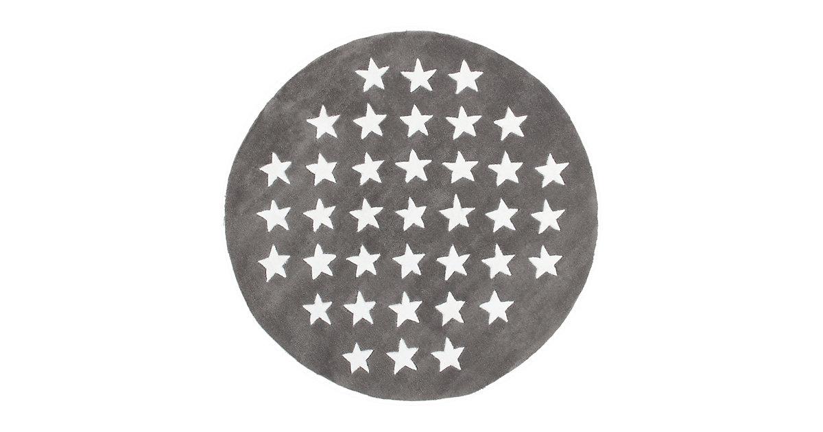Kurzflorteppich - Cameroon - Mora Grau grau Gr. 120 x 170