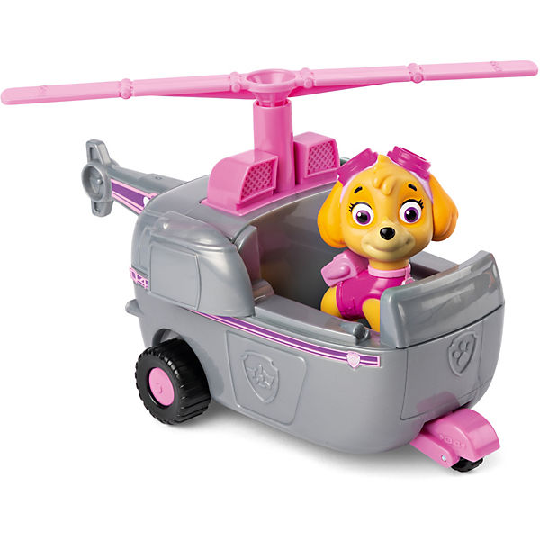 PAW Patrol Skyes Helikopter und Figur (Basic Vehicle)