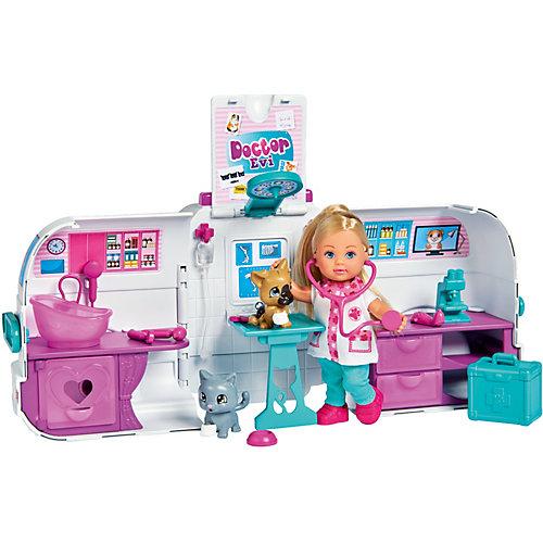 Игровой набор с куклой Simba Мобильный доктор с Еви от Simba